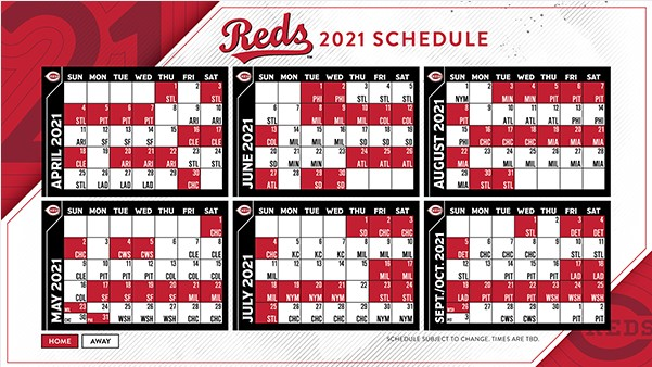 MLB: Reds and other team schedules released for regular ...