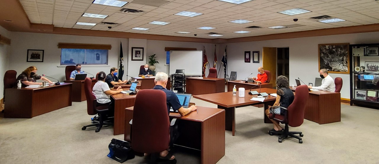 Petawawa councillors masked up as they resume in person meetings